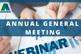 2021 ARAMA Annual General Meeting (webinar)